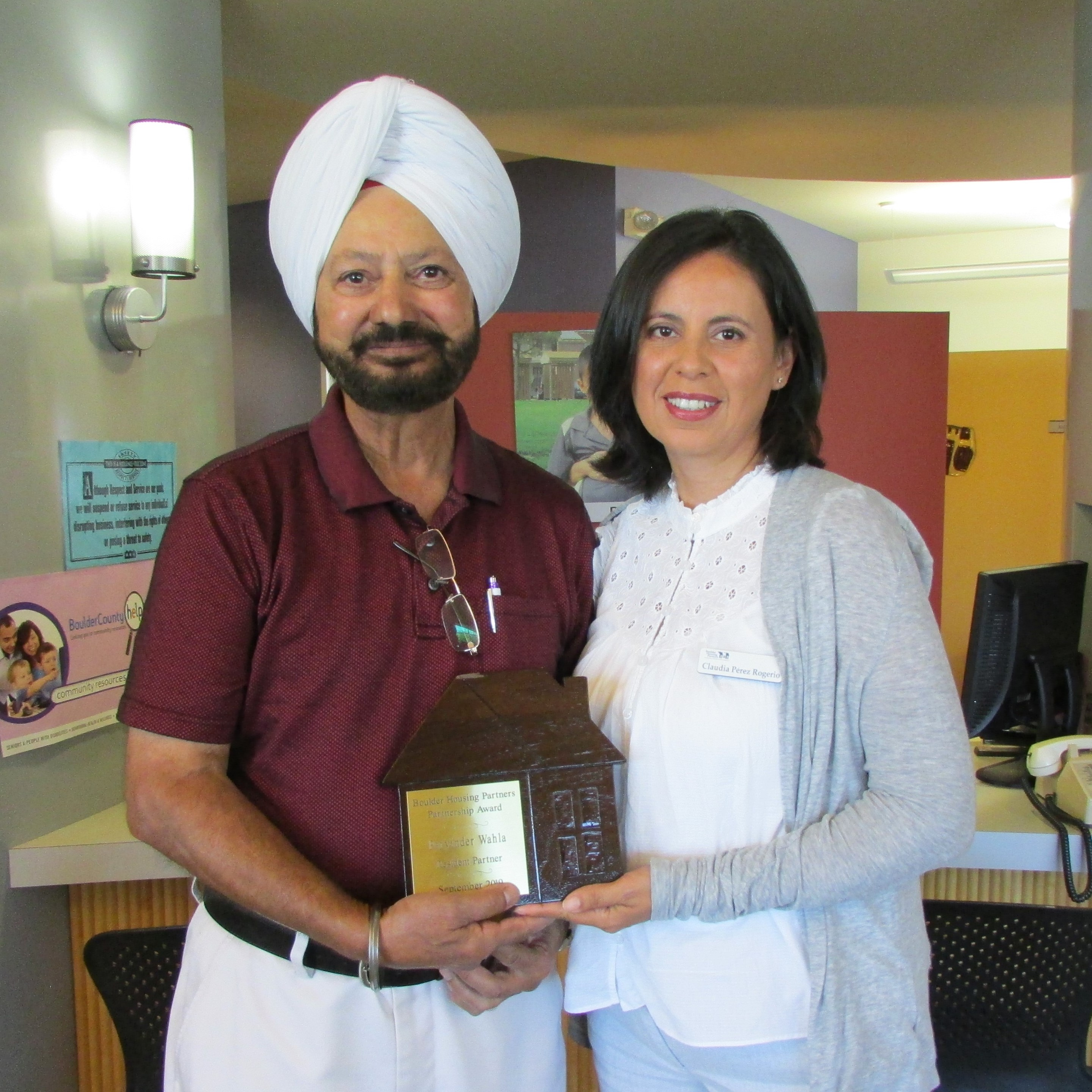 Volunteer Partner - Parvinder Wahla