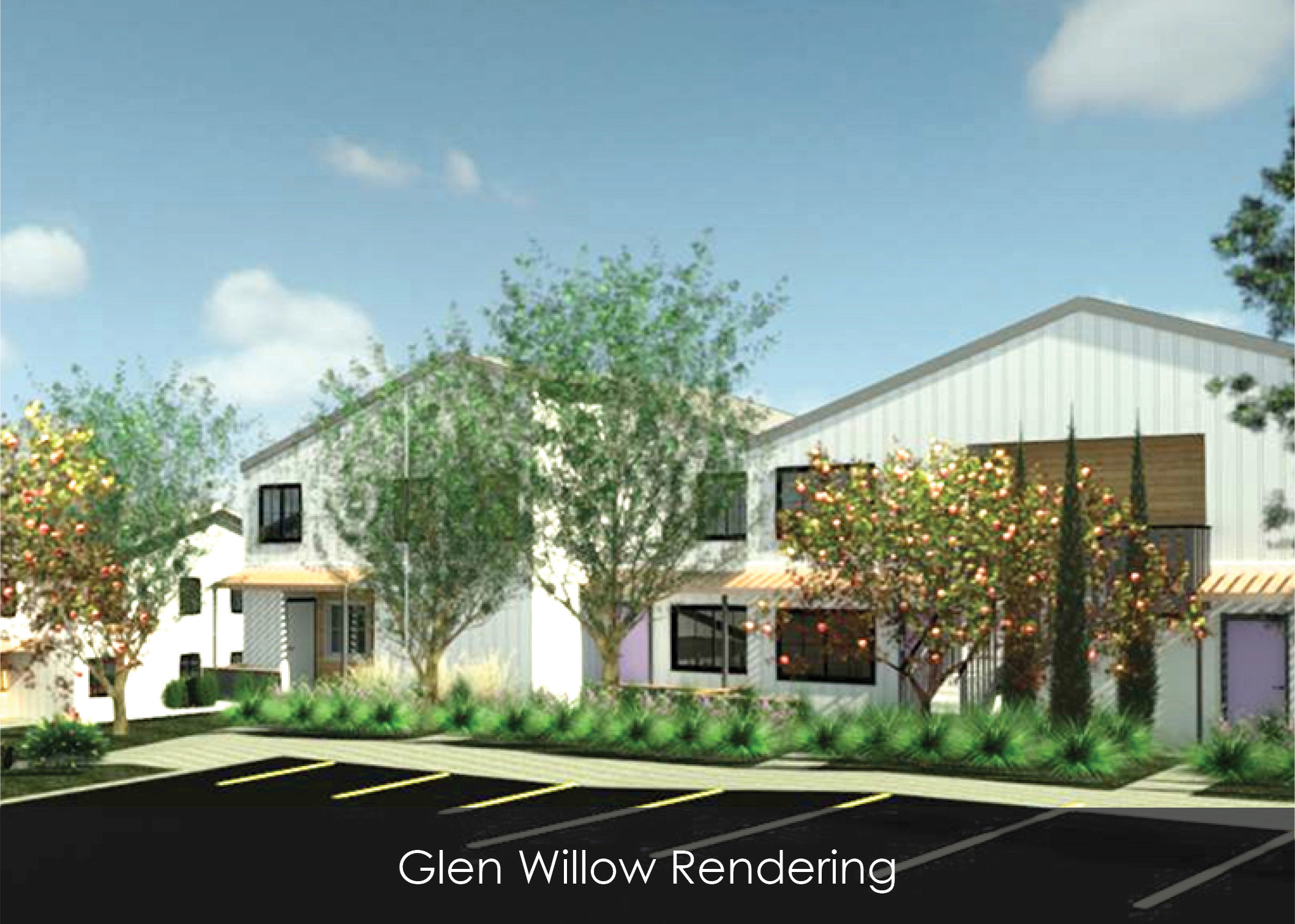 Rendering of Glen Willow